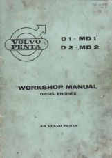Volvo Penta Workshop Manual MD1, MD2